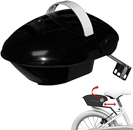 Bike Seat Holder Universal Doll DIY Bike Accessories Doll Carrier with Stickers and Straw Hat