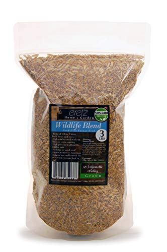 Wildlife Blend, Food Plot and Forage Seed Mix - by Eretz - Willamette Valley, Oregon Grown (3lbs)