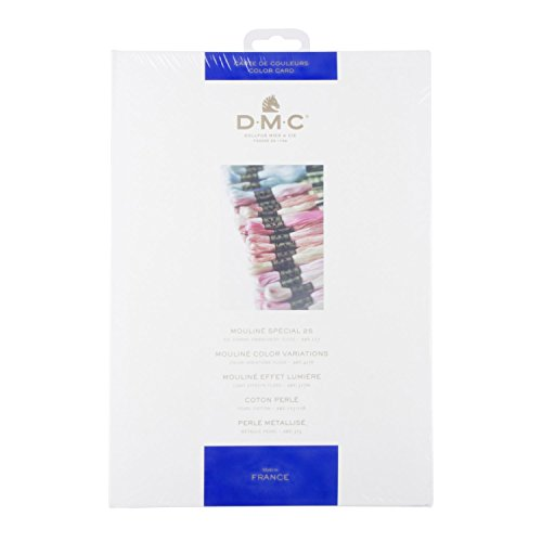 Chart Color Embroidery - DMC Stranded Cotton Shade Card - W100B
