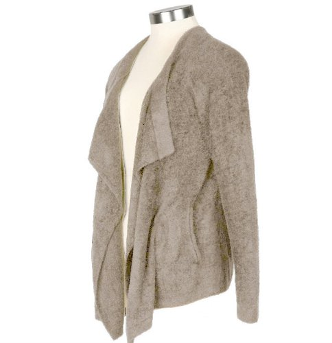 Barefoot Dreams Bamboo Chic Lite One Mile Cardigan (Stone, X-Small / Small) by Barefoot Dreams