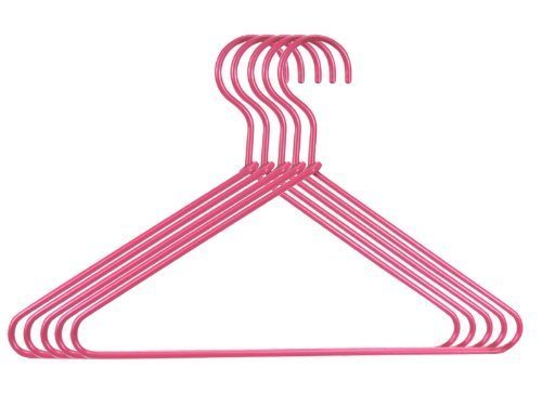 18 Inch Doll Hanger 5 Pc. Set. Hot Pink Wire Hangers for Dolls, Perfect for 18 Inch American Girl Dolls & More!