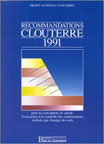 recommandations clouterre 1991
