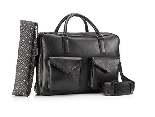 Mark Giusti Milano Double Zip Bag with Two Pockets
