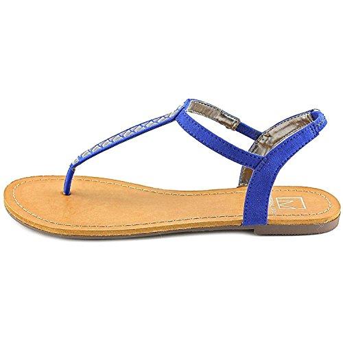 Material Girl Womens SAGE Split Toe Casual Flat Sandals, ...