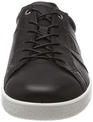 Nero Soft 1 Uomo 1001 Sneaker Men's Ecco black 8Fx4w4