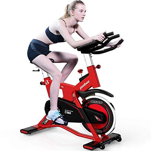 pooboo Indoor Cycling Bike Trainer, Professional Exercise Bike Stationary Bike(C580) pooboo