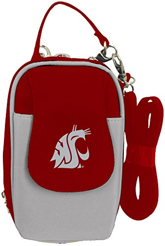 Charm14 NCAA Washington State Cougars Crossbody Cell Phone Purse XL -Fits All ()