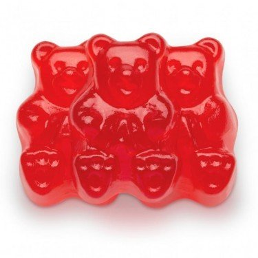 FirstChoiceCandy Albanese Gummy Bears (Red Raspberry, 5 LB)