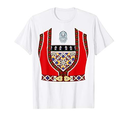 Norwegian Norway Scandinavian Bunad Costume T-shirt ()