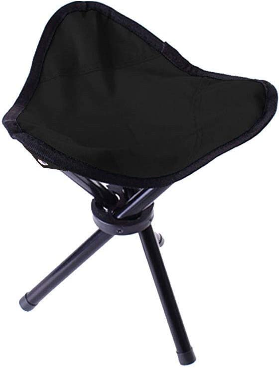 Travel Slacker Chair Folding Tripod Camping Stool Seat Hiking Portable Outdoor #SYNH