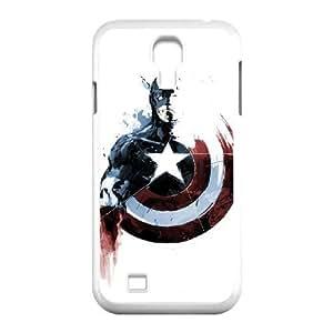 Samsung Galaxy S4 I9500 Phone Case White captain americ VMN8185306