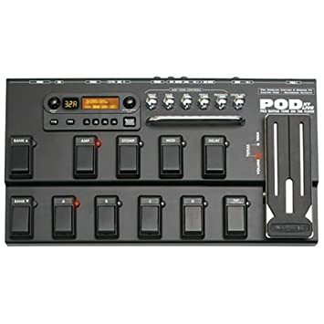 Line 6 pod pro xt live multi effect pedal+ manual & psu | #166365538.