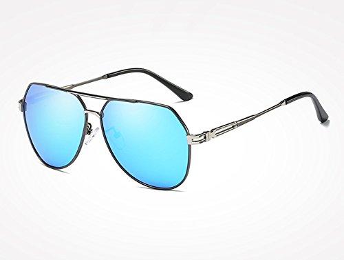 gray Hombres Gris Sunglasses Negro Oro Gafas blue de Gafas de Accesorios Sol Sol de de TL Gafas Sombras Vintage polarizadas Frías Masculinos gRvnHwfHq