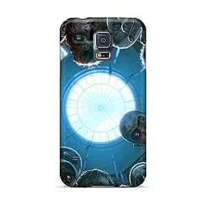 AnnaDubois Samsung Galaxy S5 Shock Absorbent Cell-phone Hard Cover Custom Vivid Rise Against Pictures [jqA5008BjVl]