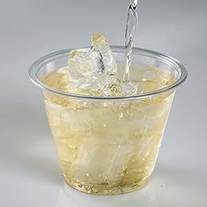 TashiBox Plastic Clear Cold Drink Cups, 9 oz (50 Count)
