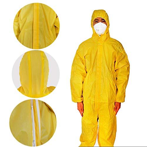 Prenda Protección, Ropa De Seguridad Siamesa Experimento De ...
