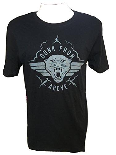 """NIke Jordan Men's Dri-Fit T-Shirt """" Dunk From Above """" 880277-010 Black (S)"""