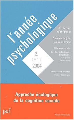 Livre gratuits en ligne Année psychologie, numéro 2 - 2004 pdf, epub