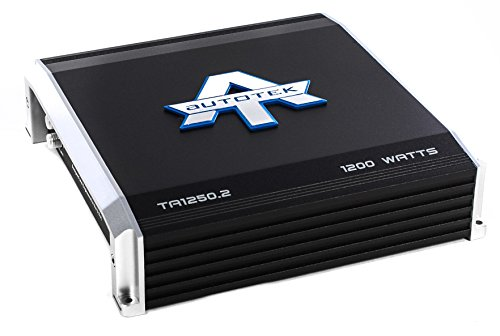 1200w Amp - AutoTek 1250.2 Ta Series 2-channel Class Ab Amp (1,200 W)