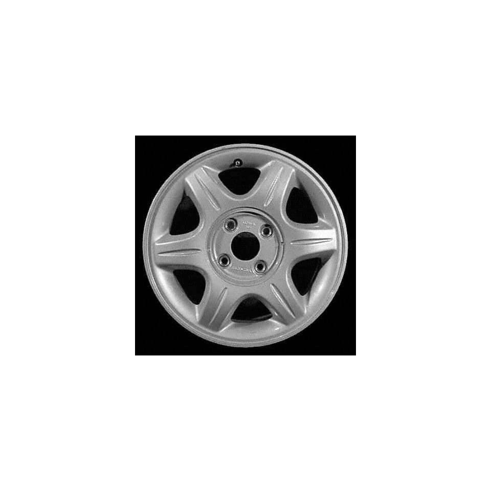 97 ACURA 2.2CL ALLOY WHEEL RIM 16 INCH, Diameter 16, Width 6 (6 SPOKE, BRUSHED FINISH), SILVER, 1 Piece Only, Remanufactured (1997 97) ALY71676U10