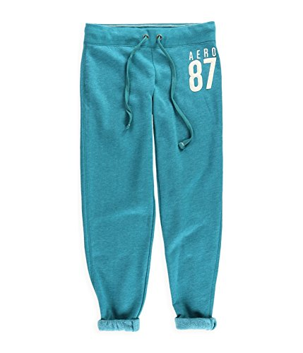 Aeropostale Womens Classic Cinch Casual Sweatpants 350 M/32