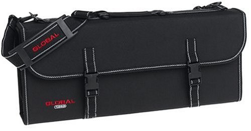 Global G-667/21 - Knife Case with Handle and 21 Pockets
