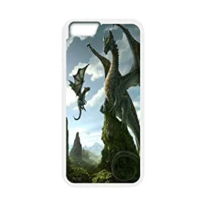 """Dragons Pattern Plastic Hard Case For Apple Iphone 6,5.5"""" screen Cases TPUKO-Q766459"""