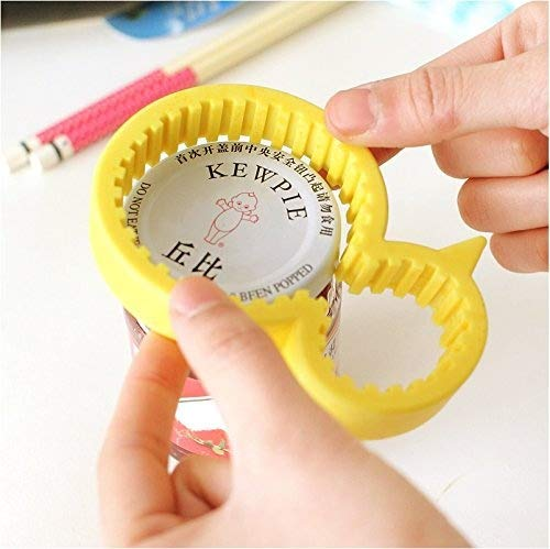 Bottle Opener / Bottle Opener Tool / Jar Opener / Jar Opener Tool / Jar Opener Silicone / Jar Opener Grip / Jar Opener Rubber / Jar Opener for Seniors / Preserves Jar Opener / Lid Remover / Non-slip - Easy for Anyone to Use, Young or Old ()