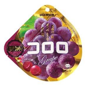 UHA Mikakuto Kororo Grape Gummy 40g