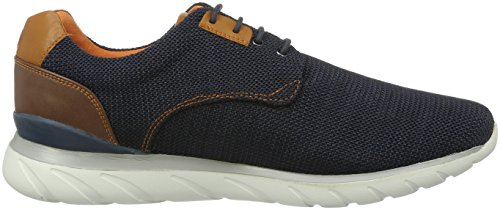 Bugatti Men's K42096 Low-Top Sneakers Blue (Navy 423) vdZjlF5LH