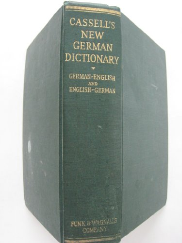 Cassell's new German and English dictionary, with a phonetic key to pronunciation
