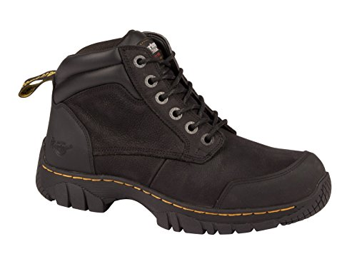 Dr Martens Mens Riverton SB Lace up Hiker Slip Resistant Safety Boots negro