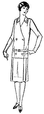 fashion 1925 dress - 6