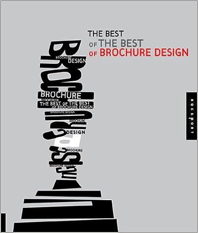 Best of the Best of Brochure Design: Rockport: 9781564969224: Amazon