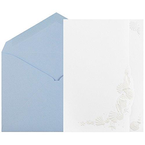 JAM Paper® Wedding Invitation Sets - Large - 5 1/2