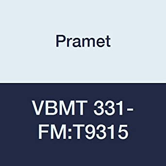 Pramet VBMT 331-FM:T9315 Carbide Indexable Turning Insert