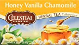 Celestial Seasonings Herb Tea Honey Vanilla Chamomile - 20 Tea Bags