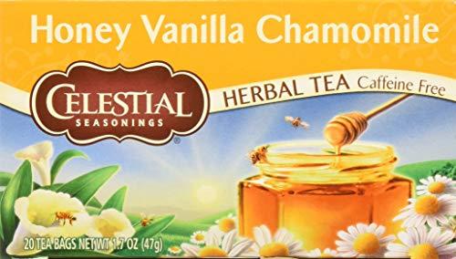 - Celestial Seasonings Herb Tea Honey Vanilla Chamomile -- 20 Tea Bags