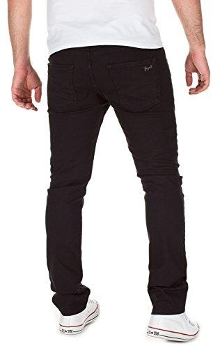 Jhin para Yazubi Black Jeans 1000 hombre Vaqueros Slim Fit 4rX5zXwq