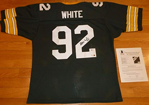 (Beckett-Bas Reggie White Green Bay Packers Mint 10 Autographed Signed-Autographed Signed Jersey 763 - Certified Signature)