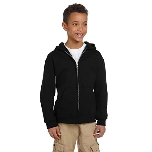 Champion Youth Midweight 50/50 Full Zip Hoodie hot sale