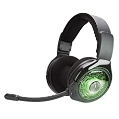 The officially licensed AG 9 for Xbox One is a premium, true wireless headset from PDP, the leading third party manufacturer of video game accessories. With no wires to the controller or console, gamers can enjoy a hassle-free and fully wirel...