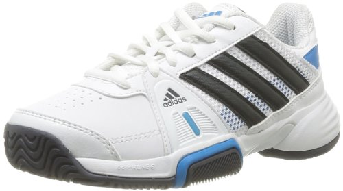 adidas Barricade Team 3 XJ D65992 - Zapatos para correr para unisex-niño, color blanco, talla 32 Blanco (Weiß (Running White Ftw / Night Shade F13 / Solar Blue S14 D65992))