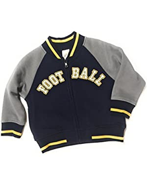 Baby Boy's Football Varsity Jacket