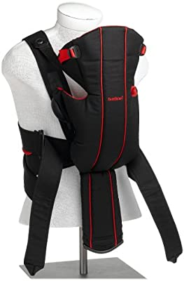 c382a0f276e Babybjorn Baby Carrier Active - Black Red  Amazon.ca  Baby