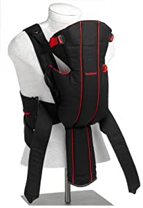 BABYBJORN Baby Carrier Active, Black/Red (Discontinued by Manufacturer)
