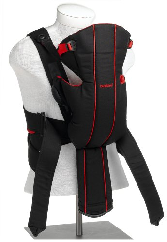 Babybjorn Baby Carrier Active Black Red Discontinued By Manufacturer