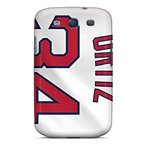 Hard Protect Phone Case For Samsung Galaxy S3 (WBu19231BTdp) Custom Attractive Boston Red Sox Image