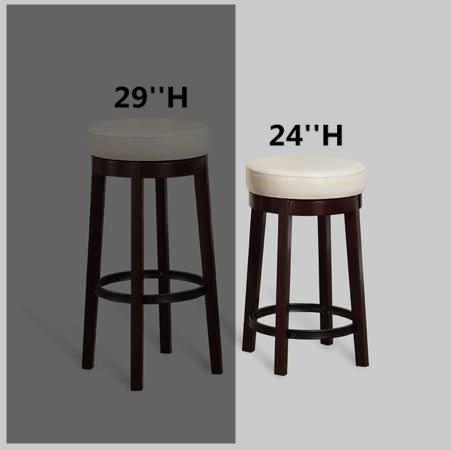 Bar 24' Vanity (Brand New Set of 2 Espresso Finish Wood 24
