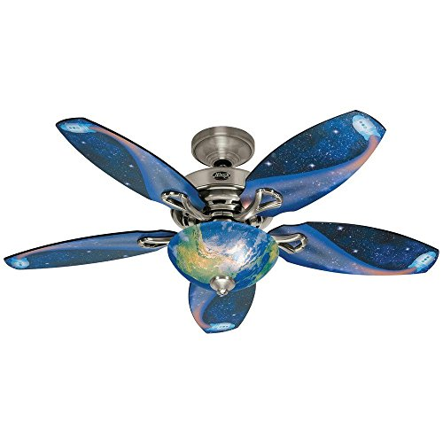 Hunter Discovery 48 in. Indoor Brushed Nickel Ceiling Fan